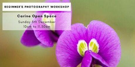 Photography Beginner Workshop - Carine Open Space tickets