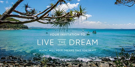 Live the Dream Travel Showcase featuring APT and Travelmarvel - Noosa tickets