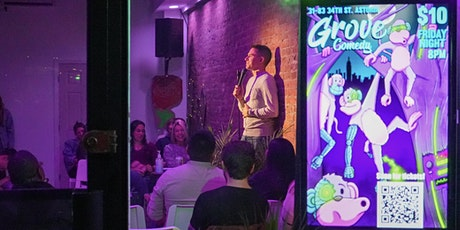 Grove Comedy - THIS FRIDAY Stand up comedy in Astoria @ Grove 34 tickets