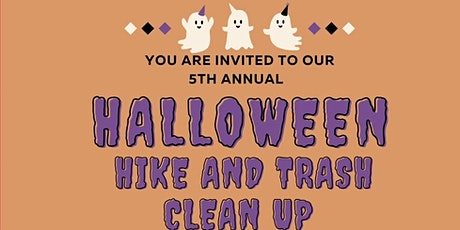 5th Annual Halloween Hike to Bee Rock and Pick up Trash Along the way tickets