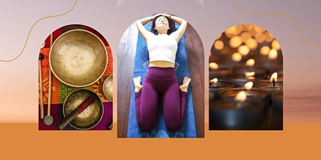 Candlelight YIN FLOW with Singing Bowls tickets