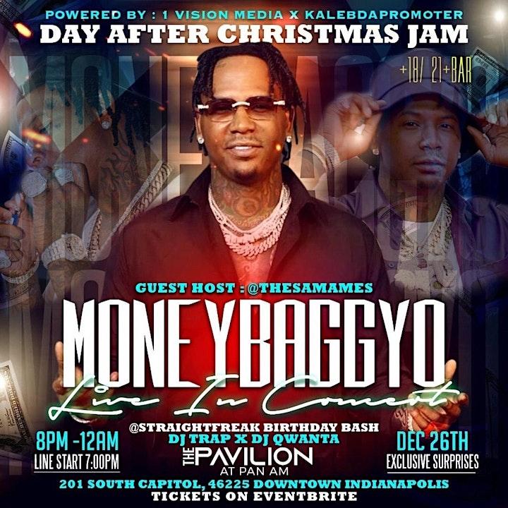 MoneybaggYo Concert! Christmas Jam (Indianapolis) image