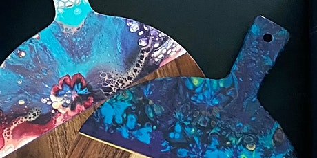 Fluid Creativity Workshop. - create your own wooden serving board tickets