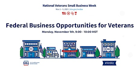 Federal Business Opportunities for Veterans tickets