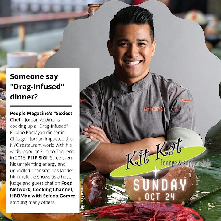 A Kamayan Feast with Chef Jordan Andino at Kit Kat Lounge! image