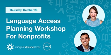 Language Access Planning Workshop for Nonprofits tickets