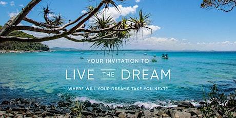 Live the Dream Travel Showcase featuring APT & Travelmarvel - Coffs Harbour tickets