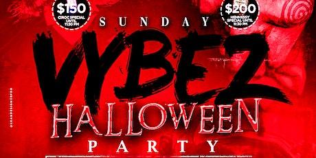 Oct 31 - Sunday Vybez Halloween tickets