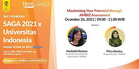 [SAGA 2021] Maximizing Your Potential through  AMBIZ Assessment tickets