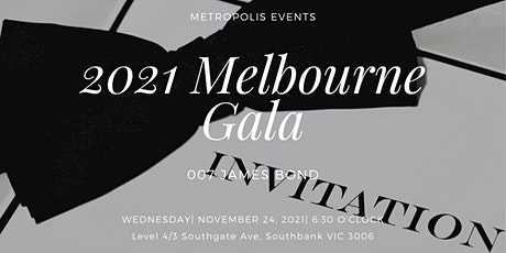 The 2021 Melbourne Gala tickets