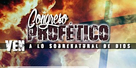 Congreso Profético entradas