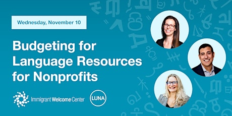 Budgeting for Language Resources for Nonprofits tickets