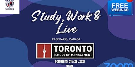 Study, Work & Live in Toronto, Canada tickets