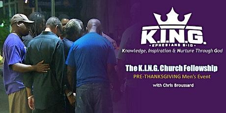 K.I.N.G. Church Fellowship Pre-Thanksgiving Virtual Event tickets
