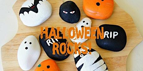 Halloween Rock Painting tickets