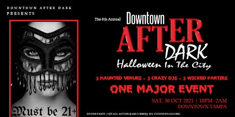 Downtown After Dark: Halloween in the City tickets