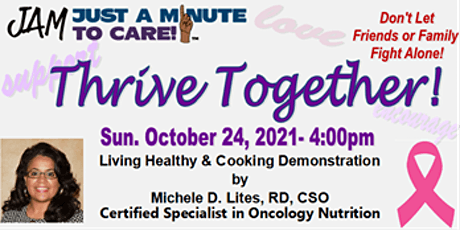 Thriving through Cancer &  Illness with Loved Ones! tickets