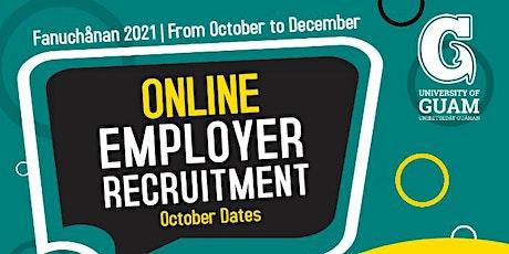 Fanuchånan 2021 Online Employer Recruitment Activity tickets