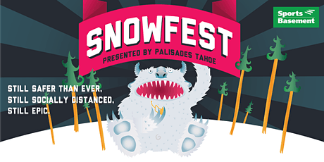 SnowFest 2021 at Sports Basement Bryant St. tickets