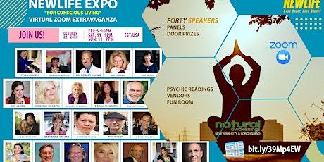 VIRTUAL EVENT--NEWLIFE Expo for Conscious Living  Oct 22-24, 2021 (NY EXPO) ingressos