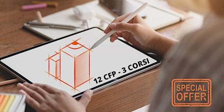 3 CORSI - 12 CFP (Superbonus Condomini - Appalti -Non Conformità) biglietti