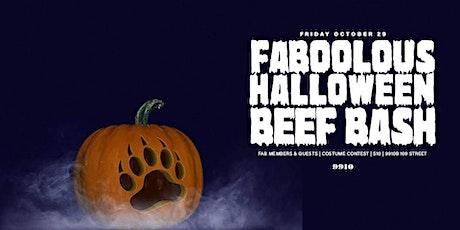 FA-BOO-lous Halloween Beef Bash tickets