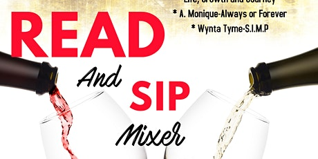 Read and Sip Mixer tickets