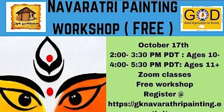 Navarathri Painting workshop tickets