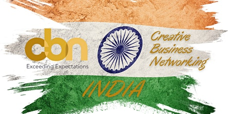 18th October  h. 7.30pm CBN India - Business Networking Event biglietti