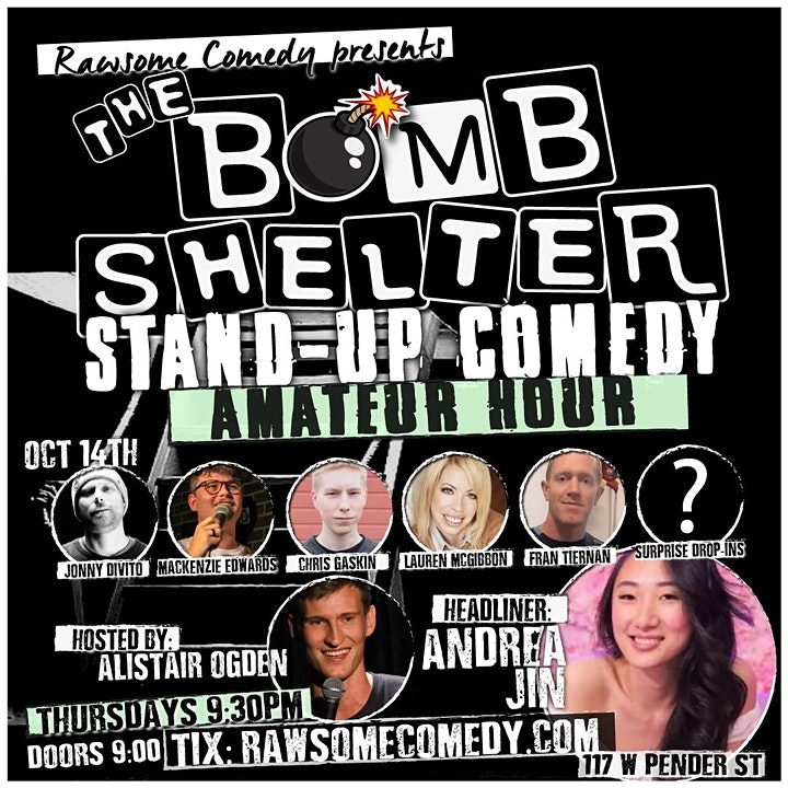 The Bomb Shelter Amateur Hour   Live Stand up Comedy image