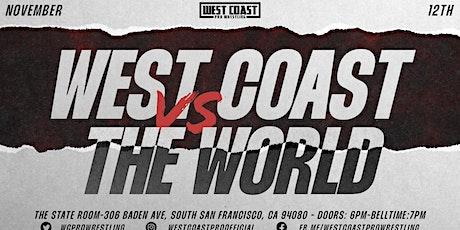 West Coast vs The World tickets