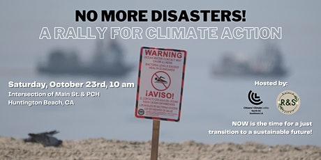 No More Disasters: A Rally for Climate Action tickets