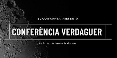 "Conferència ""Jacint Verdaguer, astrònom aficionat"". tickets"
