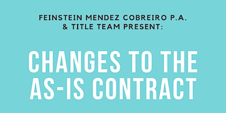 Changes To The As-Is Contract tickets