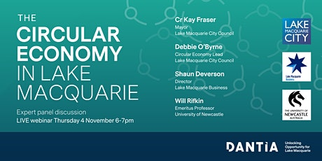 The Circular Economy in Lake Macquarie tickets