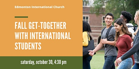 Fall Get-Together with International Students tickets
