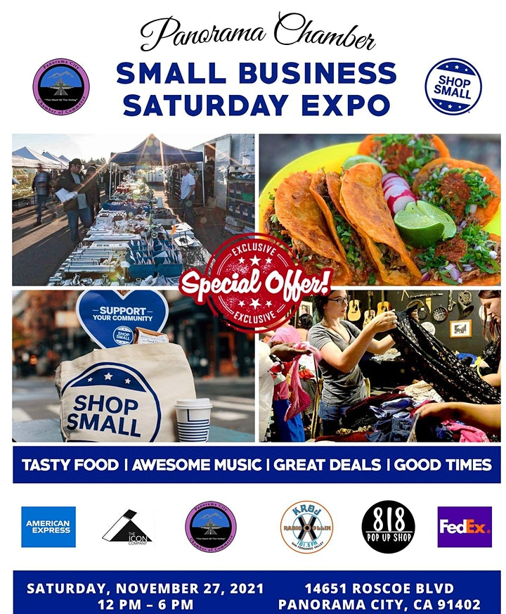 SHOP SMALL  BUSINESS SATURDAY image