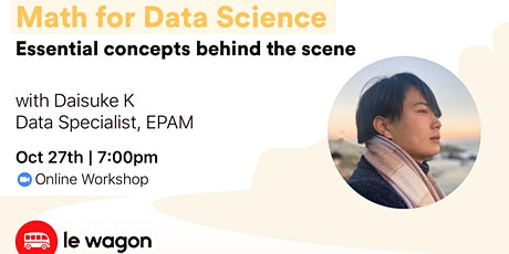 Math for Data Science - Online Workshop tickets
