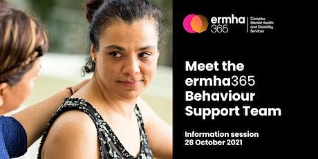 Meet the ermha365 Behaviour Support Team tickets