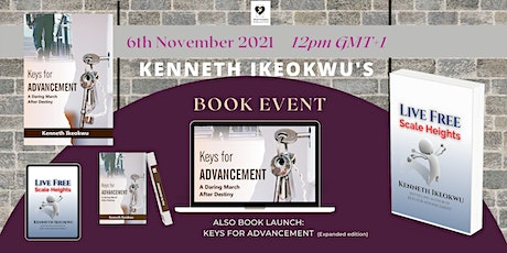 KENNETH IKEOKWU'S BOOK RELEASE EVENT tickets