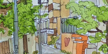 Introduction to Pen and Watercolour Sketching workshop with Donna Gordge tickets