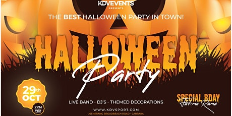 KDV HALLOWEEN PARTY tickets