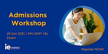Virtual Admissions Workshop (Southeast Asia) tickets