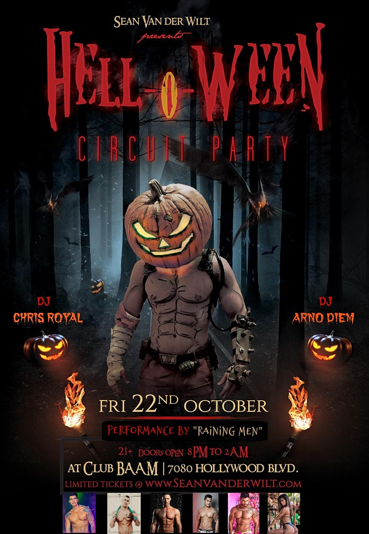 HELL-O-WEEN Circuit Party @ Club BAAM image