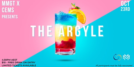 MMGT & CEMS Presents: The Argyle! tickets