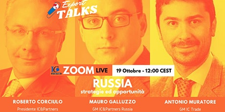 Export Talks - Focus Russia biglietti