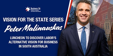 Vision For The State Series: Peter Malinauskas tickets