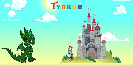 Kings and Dragons Tynker Camp. For Ages 7 to 9 tickets