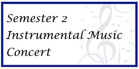 2021 Semester 2 Instrumental Music Concert (Grades 1-5) tickets