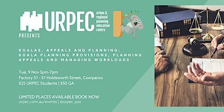 Koalas, Appeals and Planning Workshop tickets